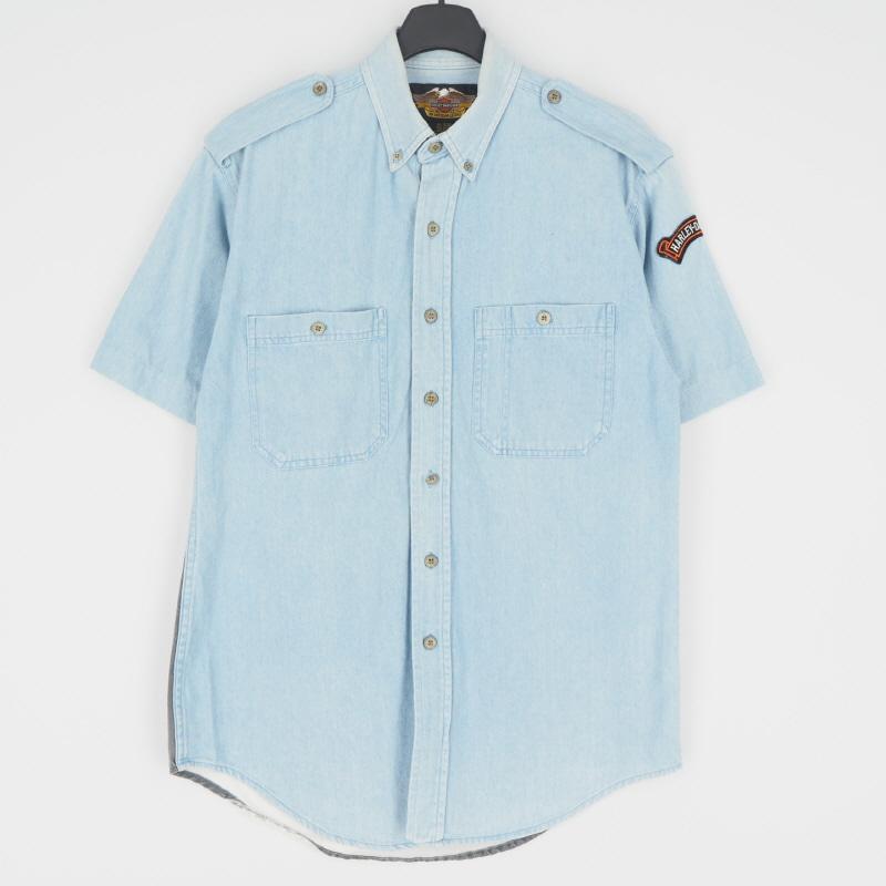 [S] 할리데이비슨 반팔 셔츠